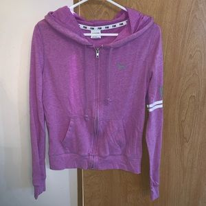 PINK Victoria Secret Zip Up Hoodie
